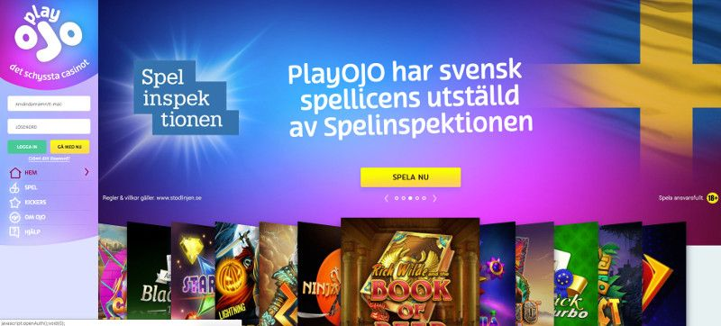 Play Ojo svensk screenshot
