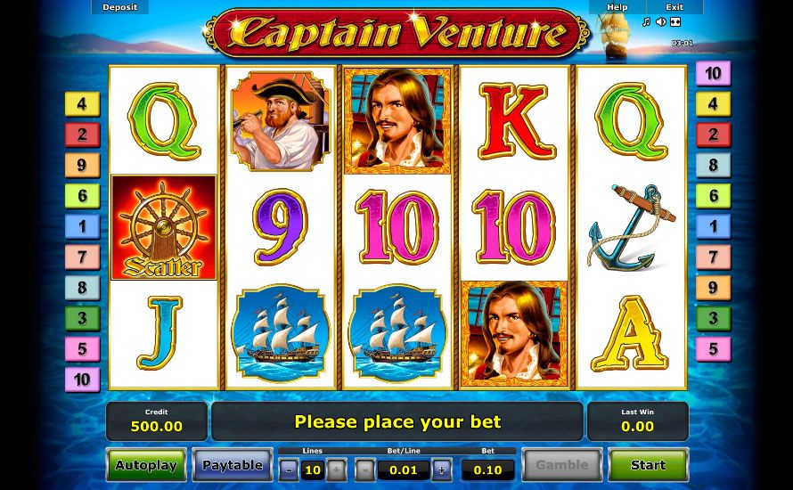 Captain Venture screenshot